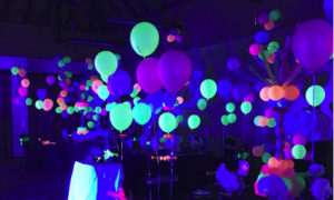 uv lights lumo neon glow party lumo hire